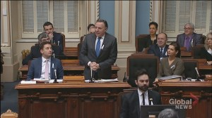 CAQ government tables bill related to school taxes